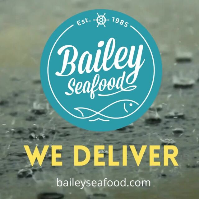 Don't let the rain hold you back, get it DELIVERED! . Order at baileyseafood.com 📱716-833-1973 ⏰We open at 3pm.  Last order at 7:20pm . . . . . . . . #baileyseafoodfresh #delivery #seafood #buffalofood #wny #716 #buffalony #wnyseafood #fresh #letitrain