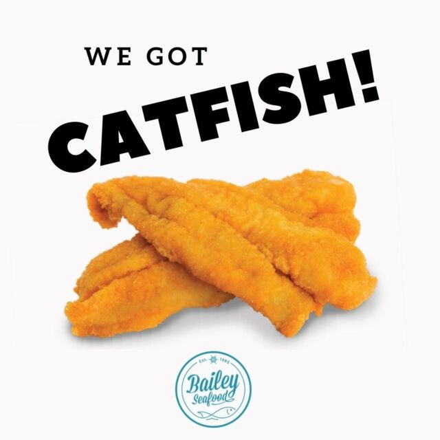 We finally got our CATFISH delivery!  Let's get these bad boys in the fryer! . Order at baileyseafood.com 📱716-833-1973 ⏰We open at 3pm.  Last order at 7:20pm . . . . . . . . #baileyseafoodfresh #buffalofoodie #buffalony #buffalobills #wny #716 #catfish #friedfood #buffalodinner #takeout #delivery